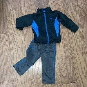 Under Armour zip-up jacket and pants